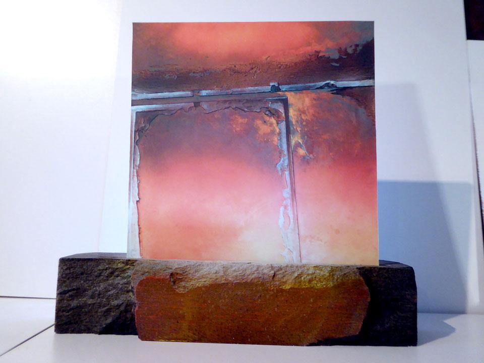 Translucide sur pierre de taille 2 - Alain Rebord