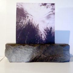 Translucide sur pierre de taille 4 - Alain Rebord